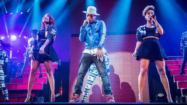 Pharrell and The Baes - The Dear G  I  R  L Tour - Spektrum - Oslo - 14 septembre 2014