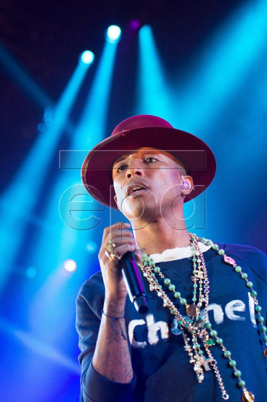 Pharrell and The Baes - The Dear G  I  R  L Tour - Max Schmeling Halle - Berlin - 16 septembre 2014