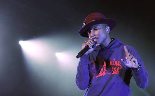 Pharrell and The Baes - The Dear G  I  R  L Tour - Marx Halle - Vienne - 18 septembre 2014