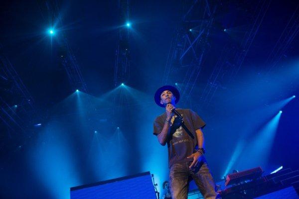Pharrell and The Baes - The Dear G  I  R  L Tour - Z�nith - Paris - 13 octobre 2014
