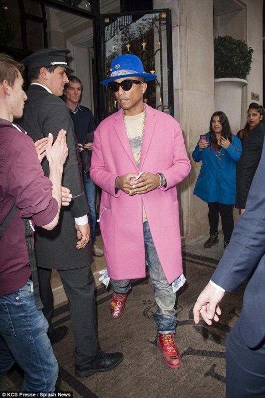 Pharrell - Paris - 15 octobre 2014