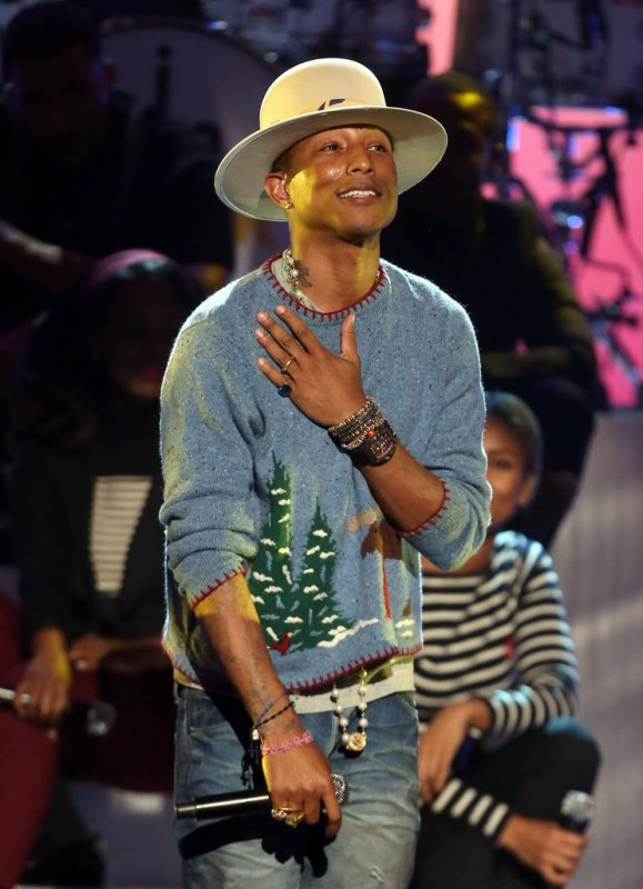 Pharrell & The Baes - A Very GRAMMY Christmas (Tournage) - Los Angeles - 18 novembre 2014