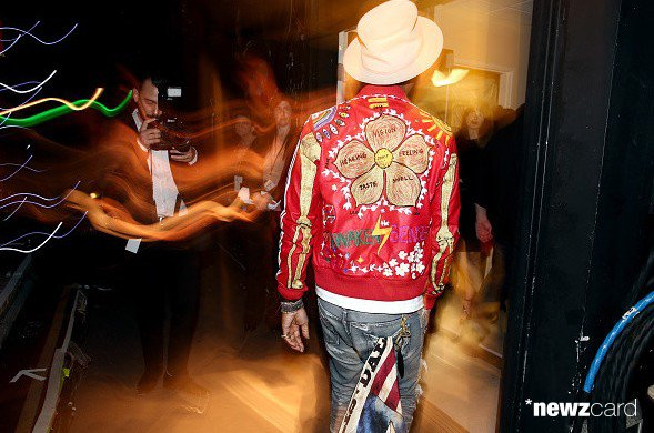 Pharrell - People Magazine Awards - Beverly Hills - 18 d�cembre 2014