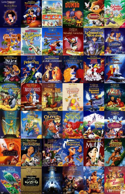 Disney + Liste