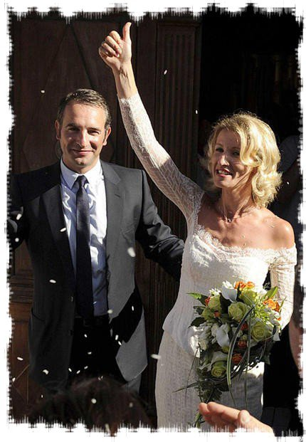 Jean dujardin et alexandra lamy mariage de stars for Age de jean dujardin