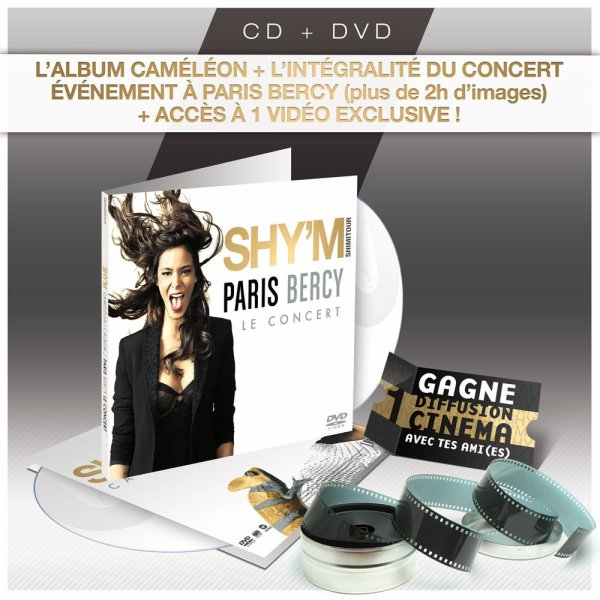 [ PR�COMMANDEZ L'EDITION CAM�L�ON + LIVE A BERCY SUR LA BOUTIQUE OFFICIELLE DE SHY'M ]