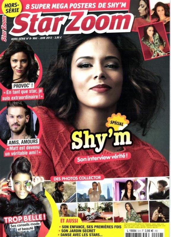 """[ Presse • Un """"Star Zoom"""" hors s�rie consacr� � Shy'm est disponible depuis le 15 mai ]"""