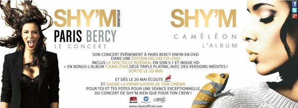 "[ Cam�l�on + Live @ Bercy + Interview ""En plein coeur"" + privatisation d'un cin� gagner avec Nrj ]"