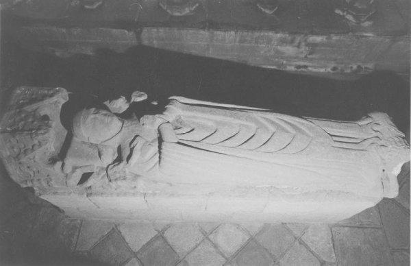 Tombeau de Guillaume Le Flo, abbé de Beaulieu