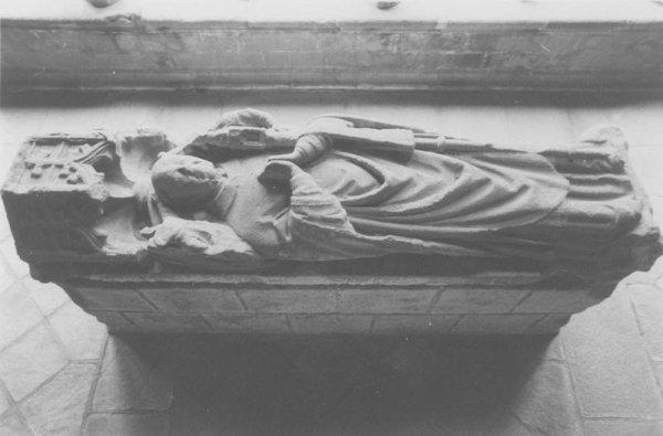 tombeau de Guillaume Boutier, abbé de Beaulieu