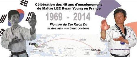 Stage de maitre lee kwan young 9� dan :30/11/2014 aux herbiers(85) 20�