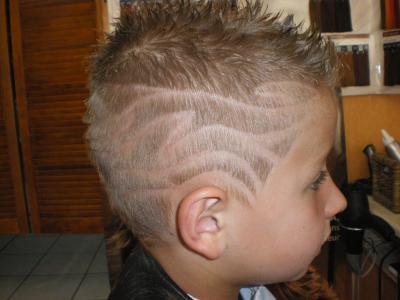 Tribal enfant del 39 coif for Coupe de cheveux tribal etoile