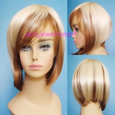 Carré plongeant blond et cuivre - Blog de hairtendance