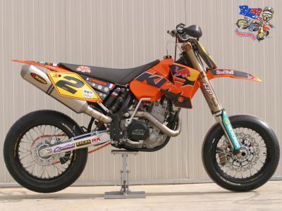 supermotard ktm de compet moto et motard. Black Bedroom Furniture Sets. Home Design Ideas