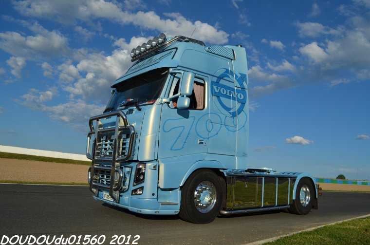 volvo fh16 700 dieppedalle transports magny cours 2012. Black Bedroom Furniture Sets. Home Design Ideas