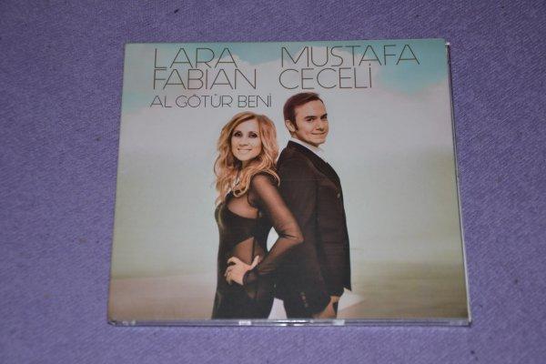 "Single digipack Lara Fabian Mustafa Ceceli "" Al g�t�r beni"""
