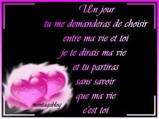 Je t 39 aime mon amour tu es ma vie blog de sebitare for Tu es le miroir de ma vie