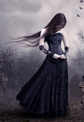 Le romantisme tout sur les gothiques - Photo romantique noir et blanc ...