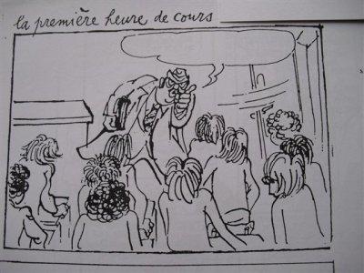 La caricature chez cabu synth se cours de fran ais en - Caricature gratuite en ligne ...