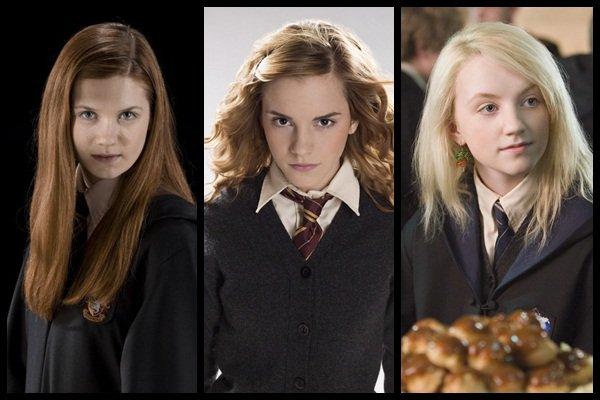 Ginny Weasley And Hermione Granger Ginny Weasley vs Hermione