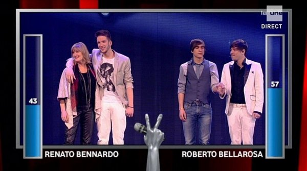 "ROBERTO BELLAROSA est le grand gagnant de : ""THE VOICE BELGIQUE"""