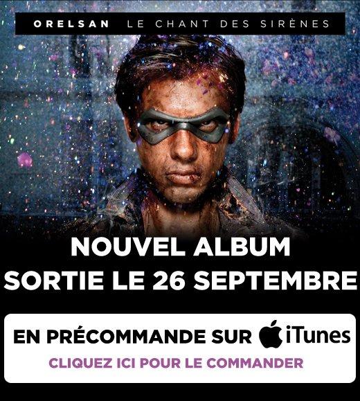 Pr�commandez l'album sur iTunes!