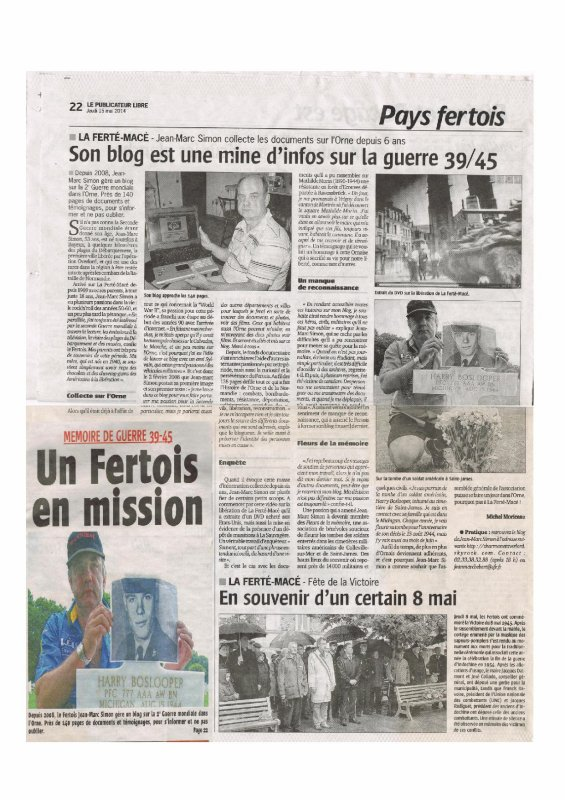 UN FERTOIS EN MISSION