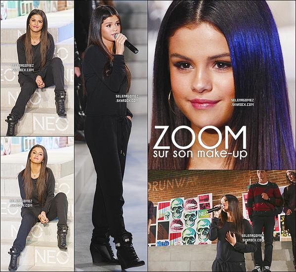# 03/09/14 -  Sel au d�fil� de sa collection Automne/Hiver 2014 pour NEO Adidas (NY)  #