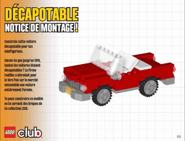 Plan de montage d 39 une belle voiture blog - Comment faire une ville lego city ...