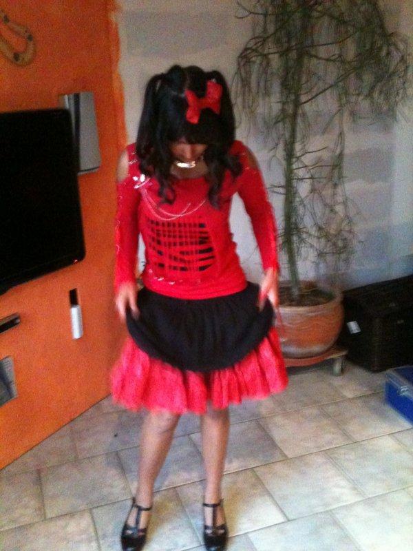 Des photos de moi en punk lolita �w� !!!