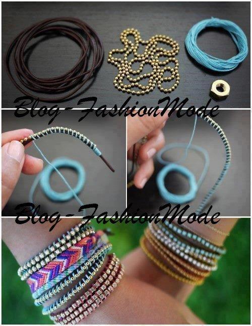 fabrication de bracelets blog fashionmode. Black Bedroom Furniture Sets. Home Design Ideas