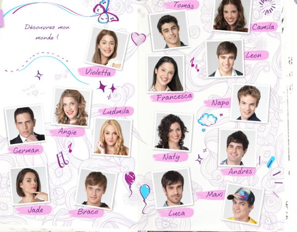 Violetta et ses amis violetta777 - Image de violetta et ses amies ...
