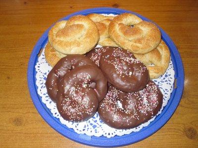 bretzel dolci al cioccolato de reginette cucina