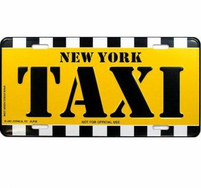 petit tour en taxi jaune de new york small round. Black Bedroom Furniture Sets. Home Design Ideas