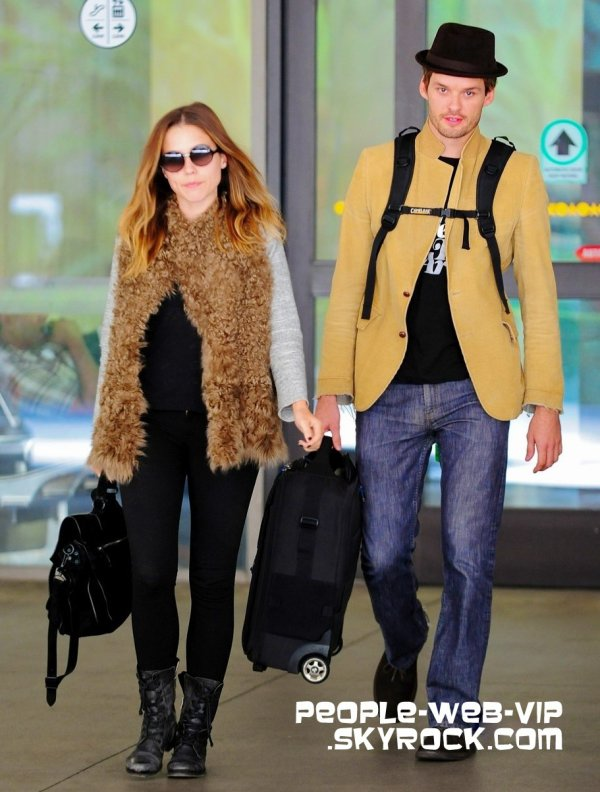 > Sophia Bush Sophia et son copain Austin Nichols arrivée ...