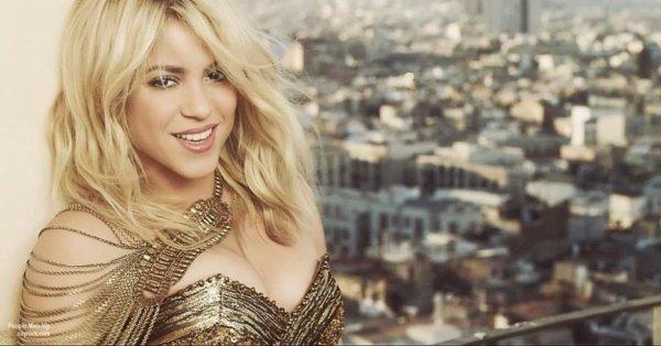 OFFICIEL :  Shakira et son ch�ri (joueur de foot) Gerard Piqu� attendent un b�b� ! F�licitations � eux deux !