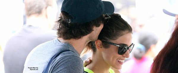 ALERTE COUPLE : Ian Somerhalder et Nikki Reed en couple?