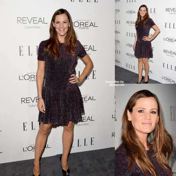 "Jennifer Garner, Kerry Washington, Tony Goldwyn, Bellamy Young, et Katie Lowes, Kaley Cuoco et son mari Ryan Sweeting, tous posent lors de la soir�e ""2014 Elle's Women in Hollywood Celebration"" . ( � l'H�tel Four Seasons lundi (20 octobre) � Beverly Hills, en Californie. )"