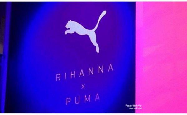 Rihanna signe avec PUMA !
