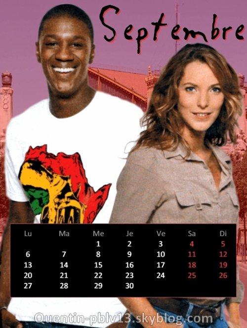 Voici mon calendrier de Septembre 2010 !   Le nouveau mois est l�, l'occasion de d�couvrir un nouveau calendrier !