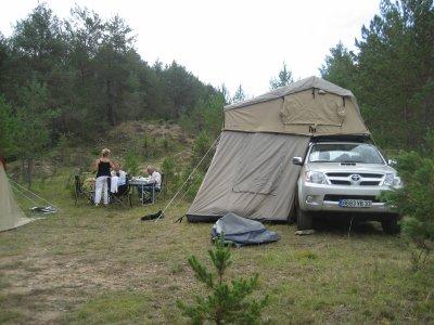 les premiers accessoires le couvre benne et la tente de toit arb blog de monhilux. Black Bedroom Furniture Sets. Home Design Ideas