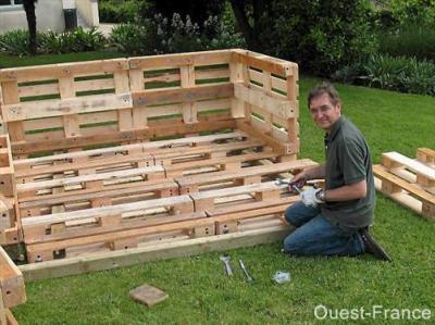 La palette de bois un jeu de construction blog de saka et line - Construction palette ...