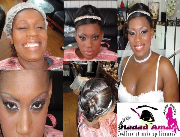 Sarah Mari E 22 Mai 2010 Maquillage Libanais Style Et Chignons Haute Couture