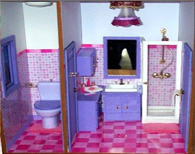la salle de bain et les toilette de barbie la ville de barbie. Black Bedroom Furniture Sets. Home Design Ideas