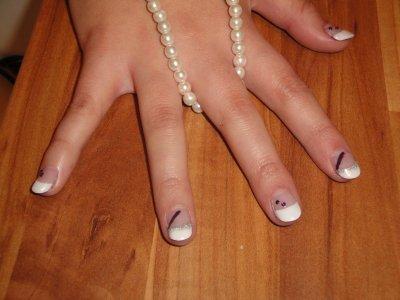 Pose D'ongle en Gel Modele Modèle de Pose D'ongles en Gel