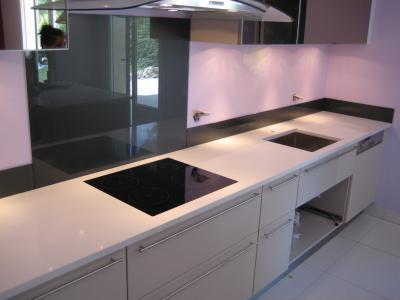credence en verre laque afdesign personnalisation. Black Bedroom Furniture Sets. Home Design Ideas