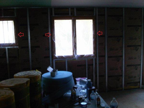 le placo autour des fenetres un reve une vie une maison. Black Bedroom Furniture Sets. Home Design Ideas
