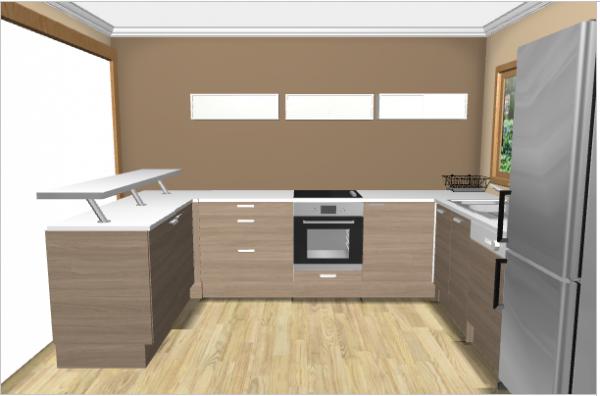implantation de la cuisine un reve une vie une maison. Black Bedroom Furniture Sets. Home Design Ideas