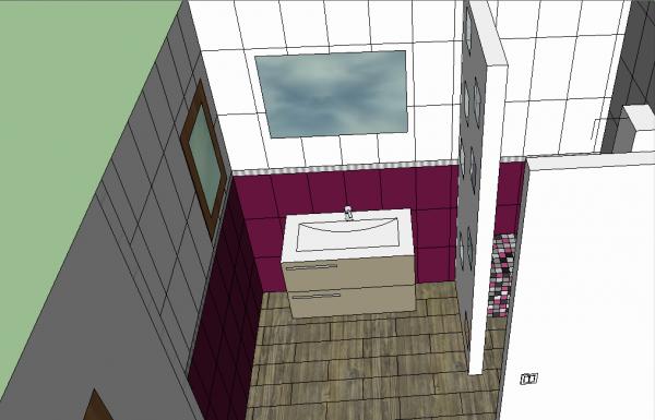 la salle d eau de la suite parentale un reve une vie une maison. Black Bedroom Furniture Sets. Home Design Ideas