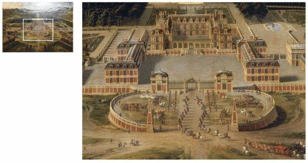 Rez de chaussée - Aile nord - 120 Les maisons royales